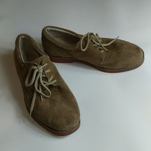 Nordstrom Leather Suede Shoes Size 5.5